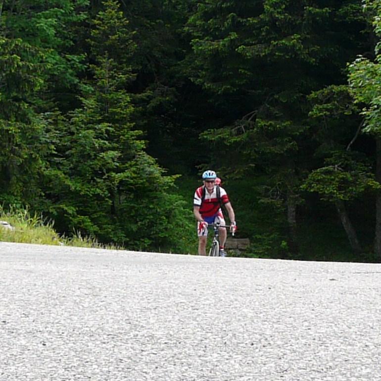 Circuit vélo par les cols du Granier,coq,cucheron