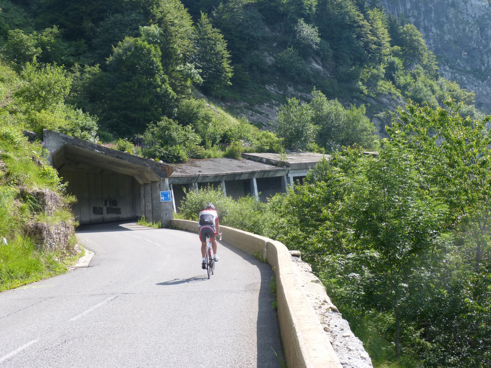 Circuit vélo autour du Roc d'Enfer depuis bellevaux