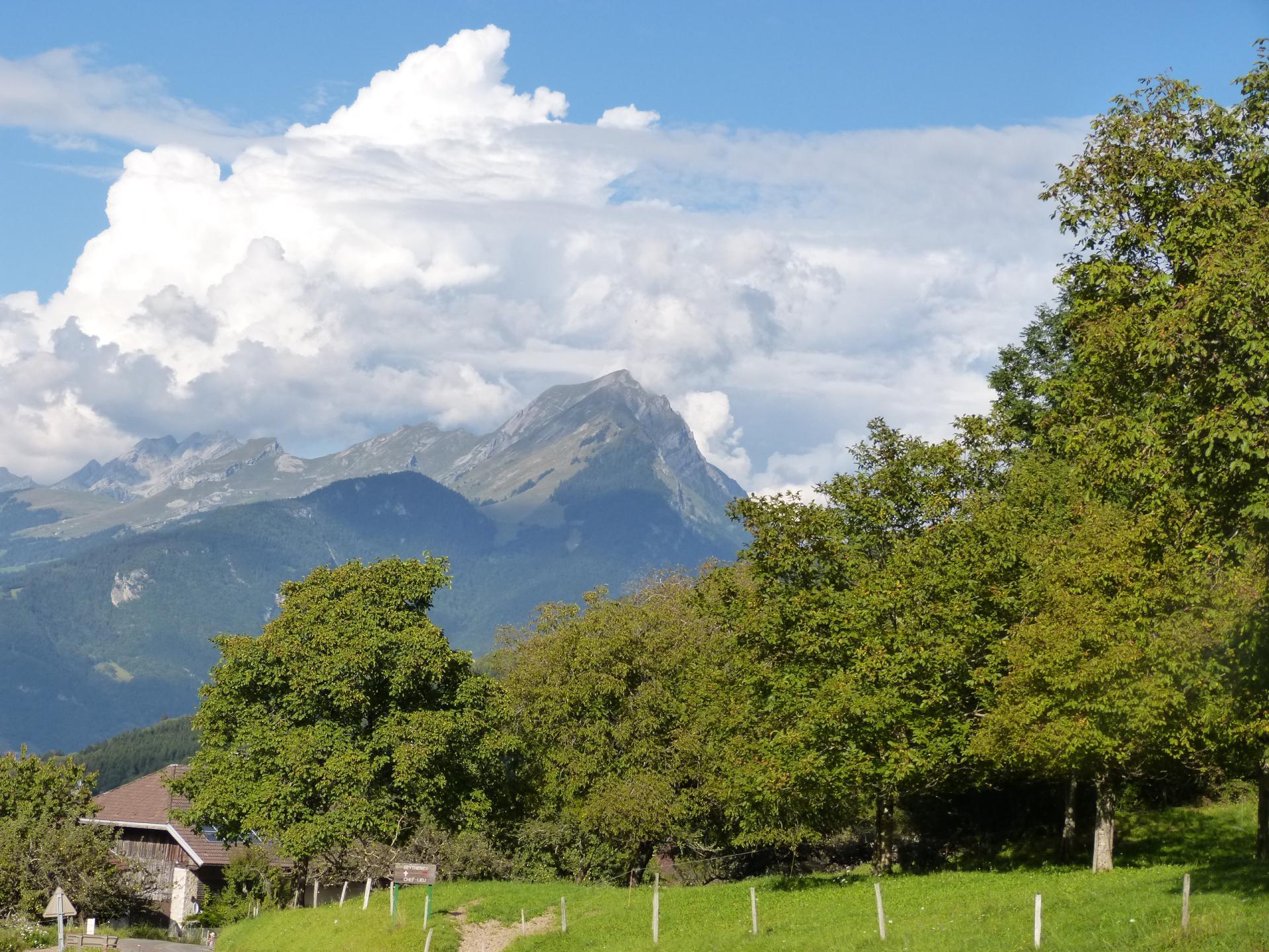 Randonnée/via ferrata du Mont Charvin