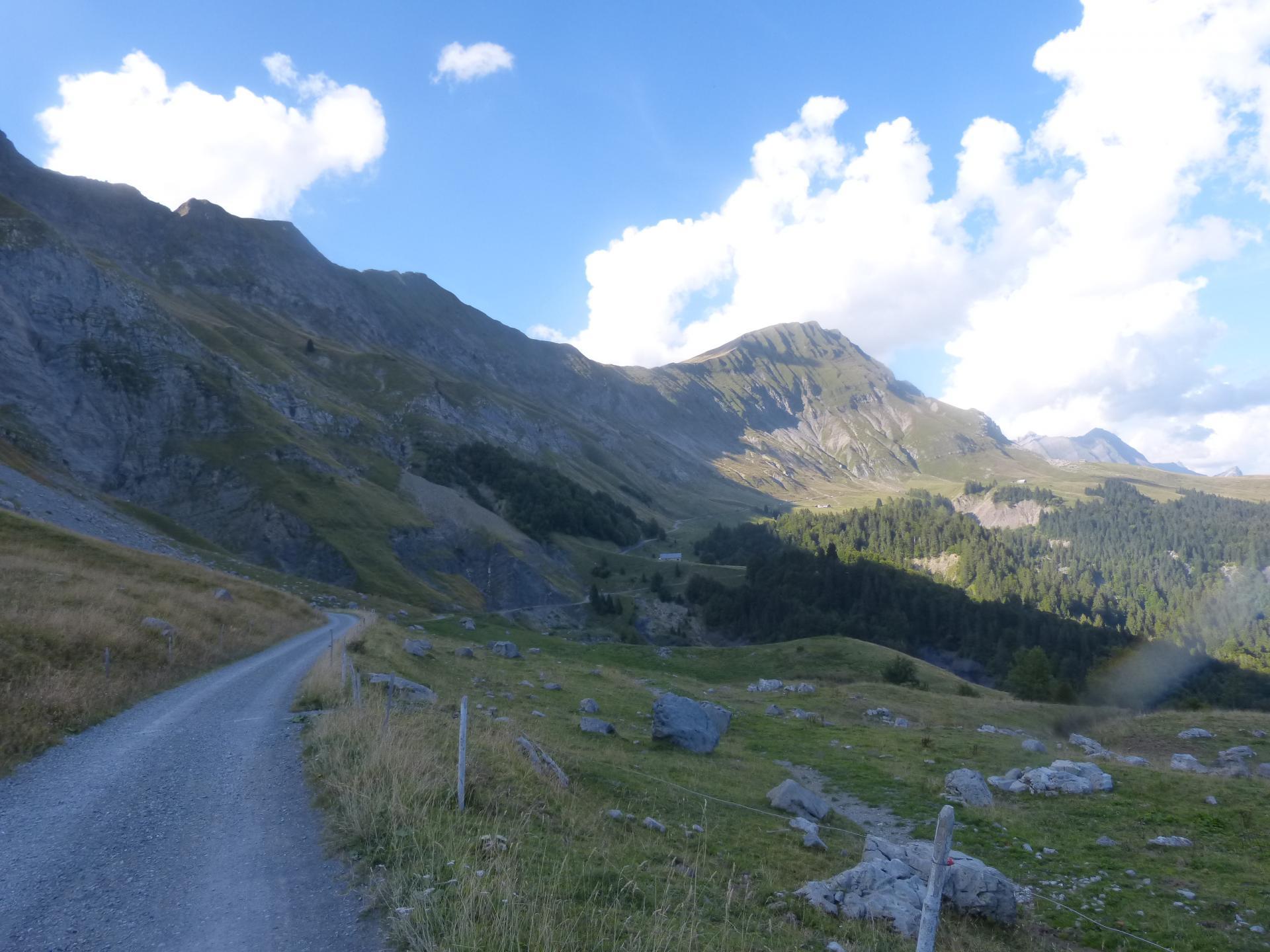 Circuit vélo cols de l' Arpettaz et de l' épine depuis Duingt