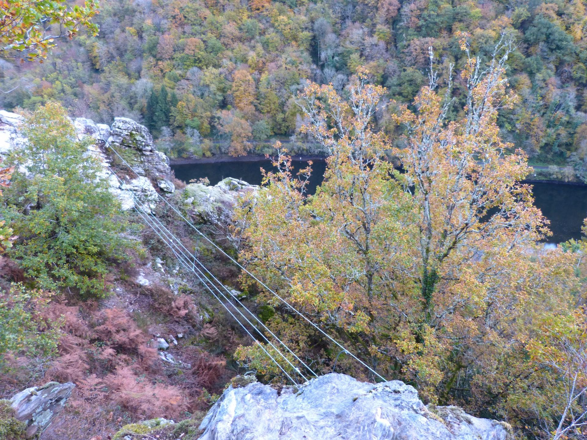 Via ferrata de la Dordogne à St Martial d' Entraygues