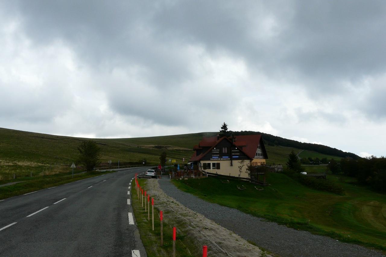 derrière l' hotel, le ballon d' Alsace