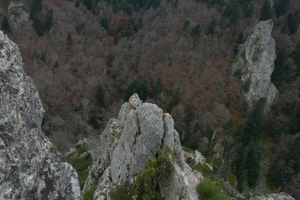 ambiance montagne aux rochers de la Miramande