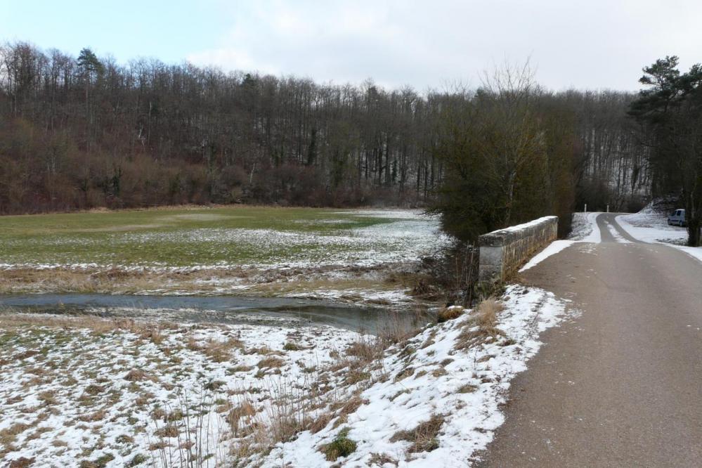la bouvade au pont de Moutrot