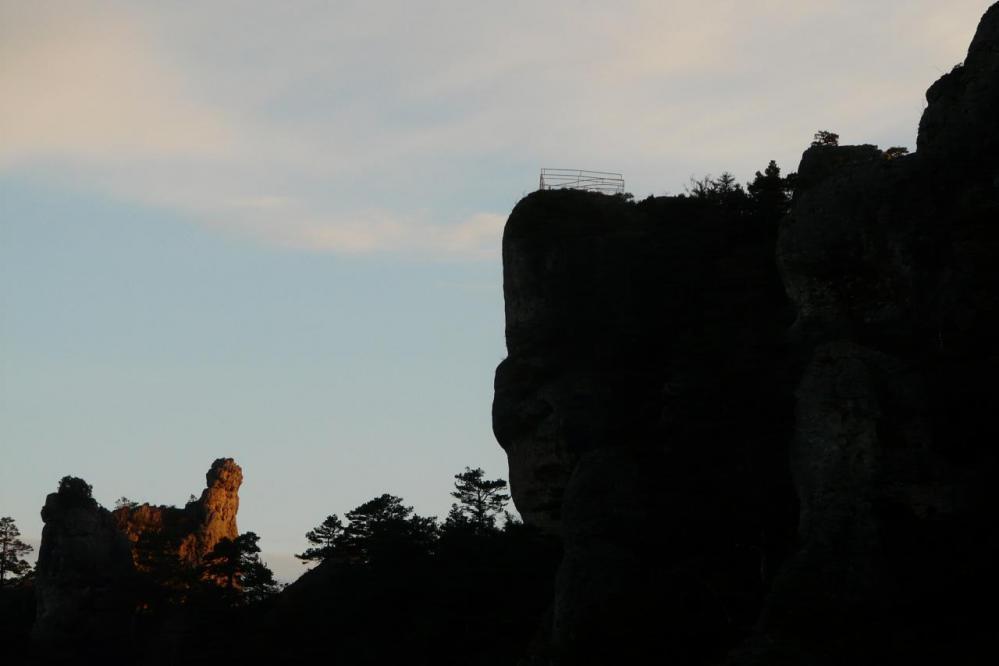 le belvédère le dominal Chaos de Montpellier le vieux