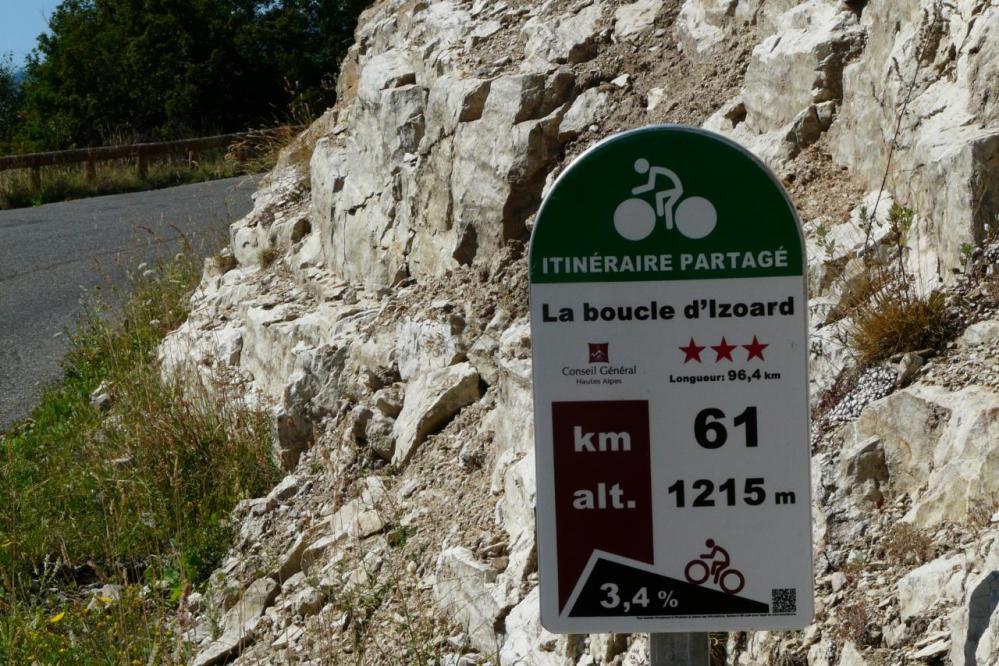 les sympathiques bornes d' information pour les cyclistes