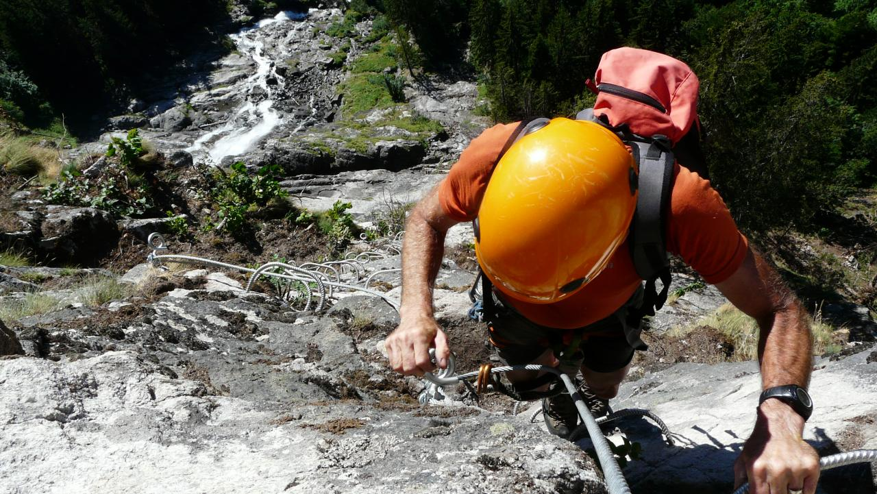 via ferrata de la Fare
