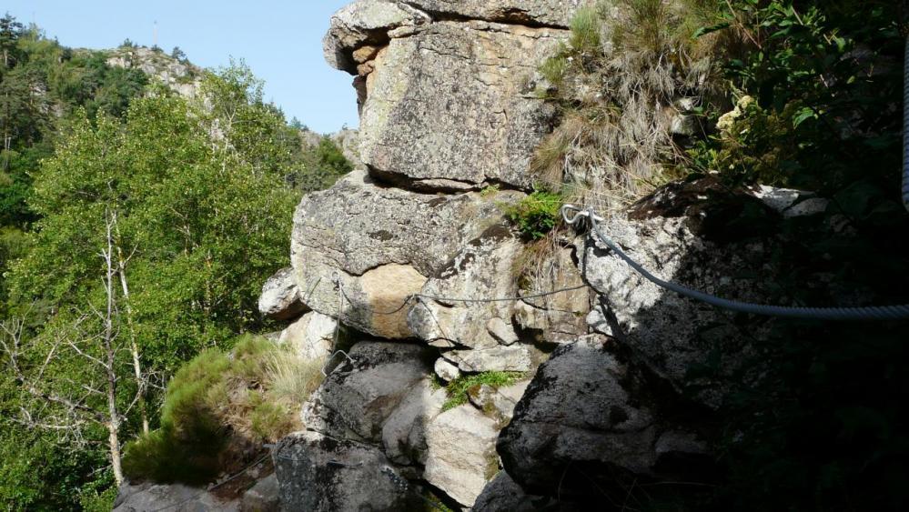 les premiers mètres de la via de Malzieu