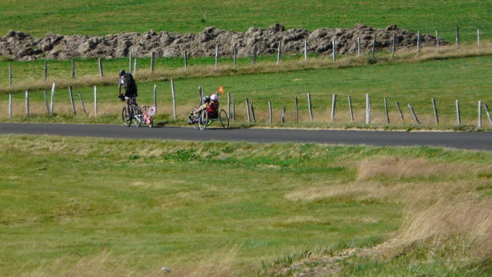 sympathique équipe de cyclistes !