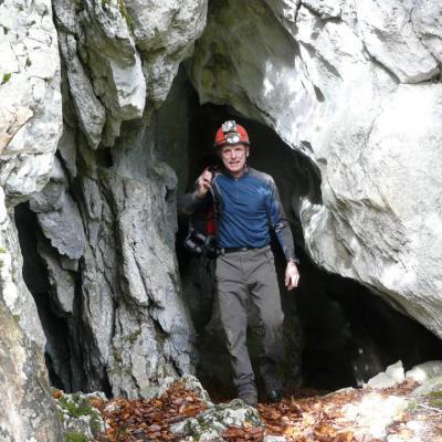 grotte de ferrières dans le col de Carri (Vercors)